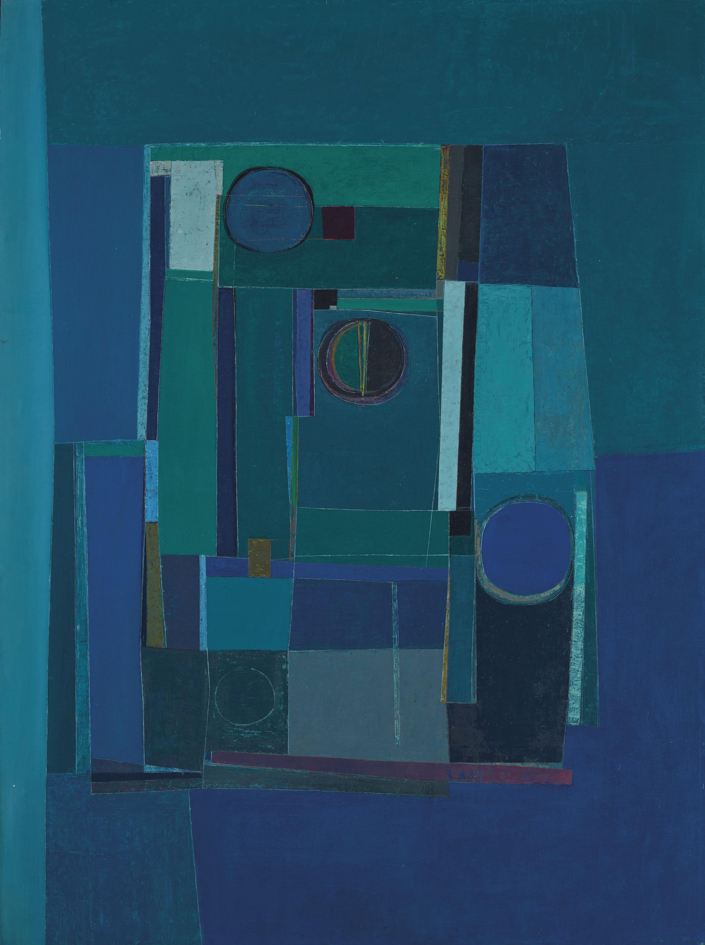 Azul (1958), oil on canvas / Christie's, New York