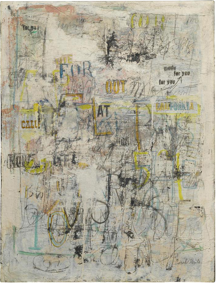Made for you (1963), oil on canvas / Sotheby's, New York
