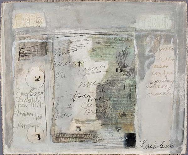 Untitled (ca. 1970), oil on canvas / Davis Museum at Wellesley College, MA
