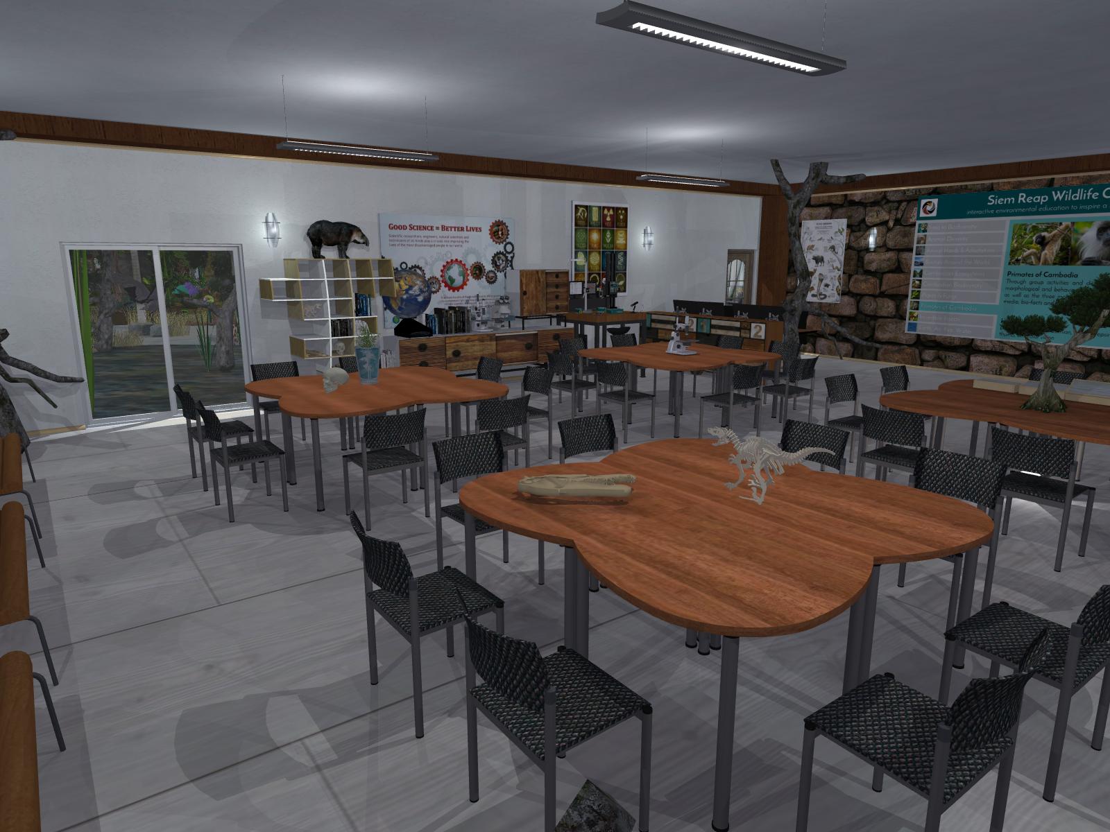 Wildlife Science Classroom