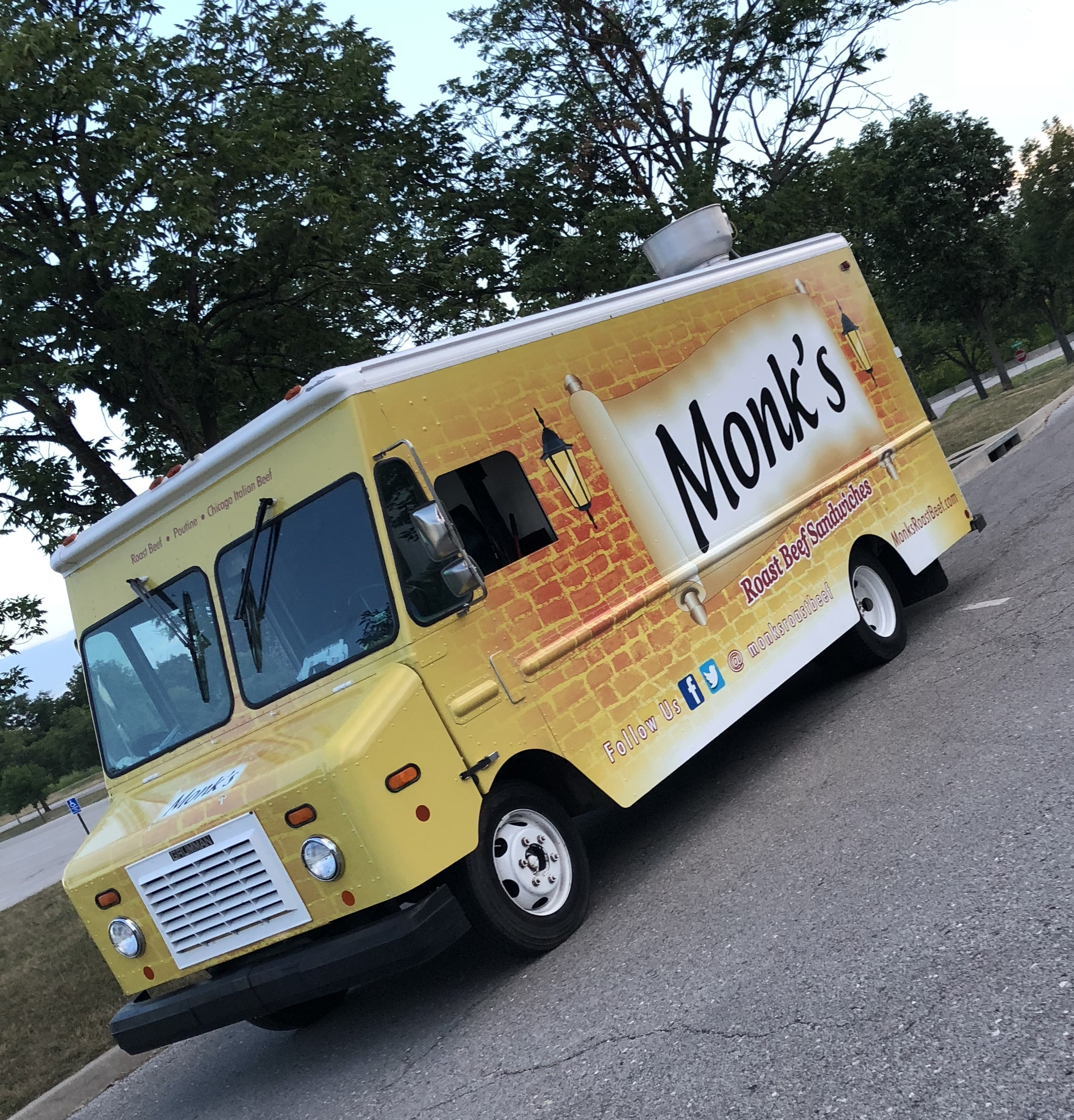 Monk's Roast Beef Sandwiches - Commissioned in October 2017