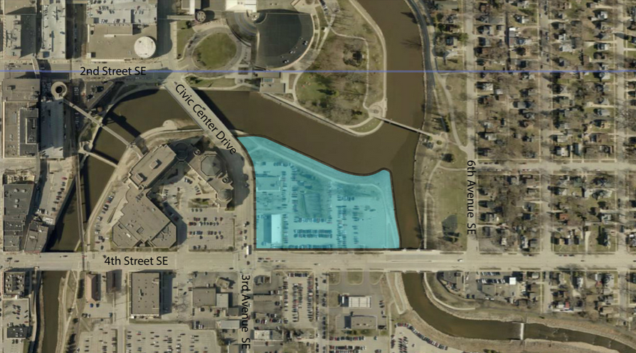 Graphic: Google Maps / Design Rochester