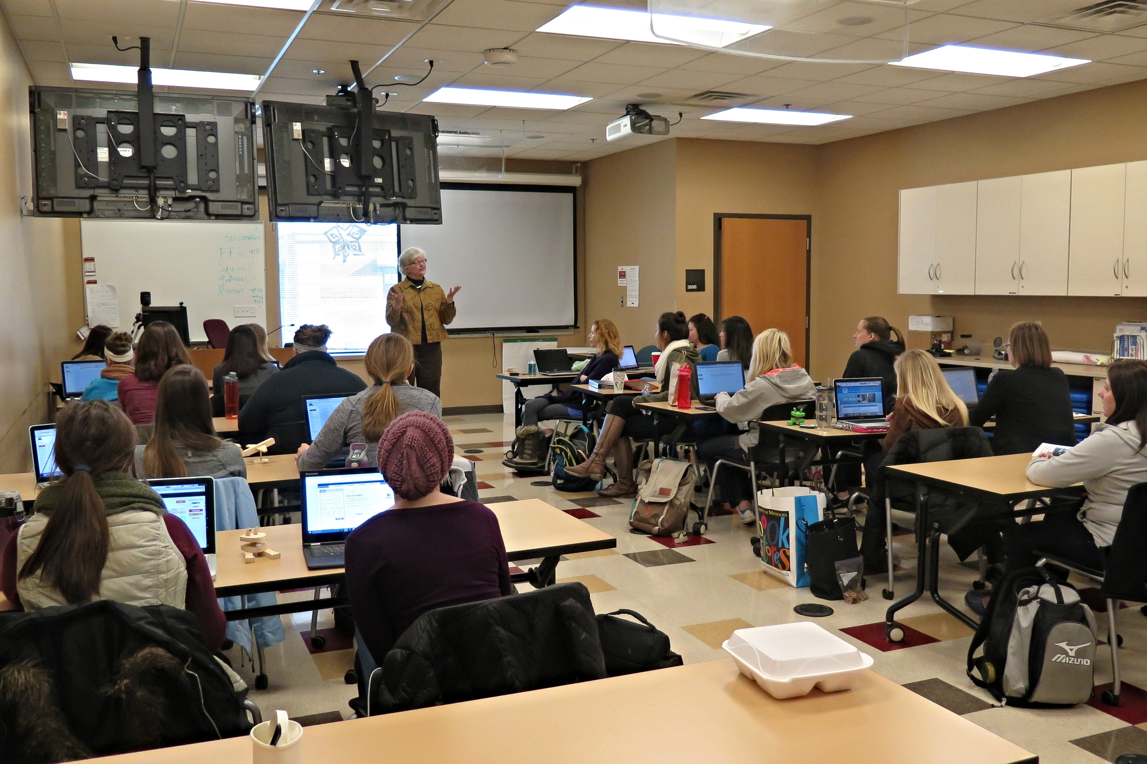 Photo: UMR classroom / The Med City Beat