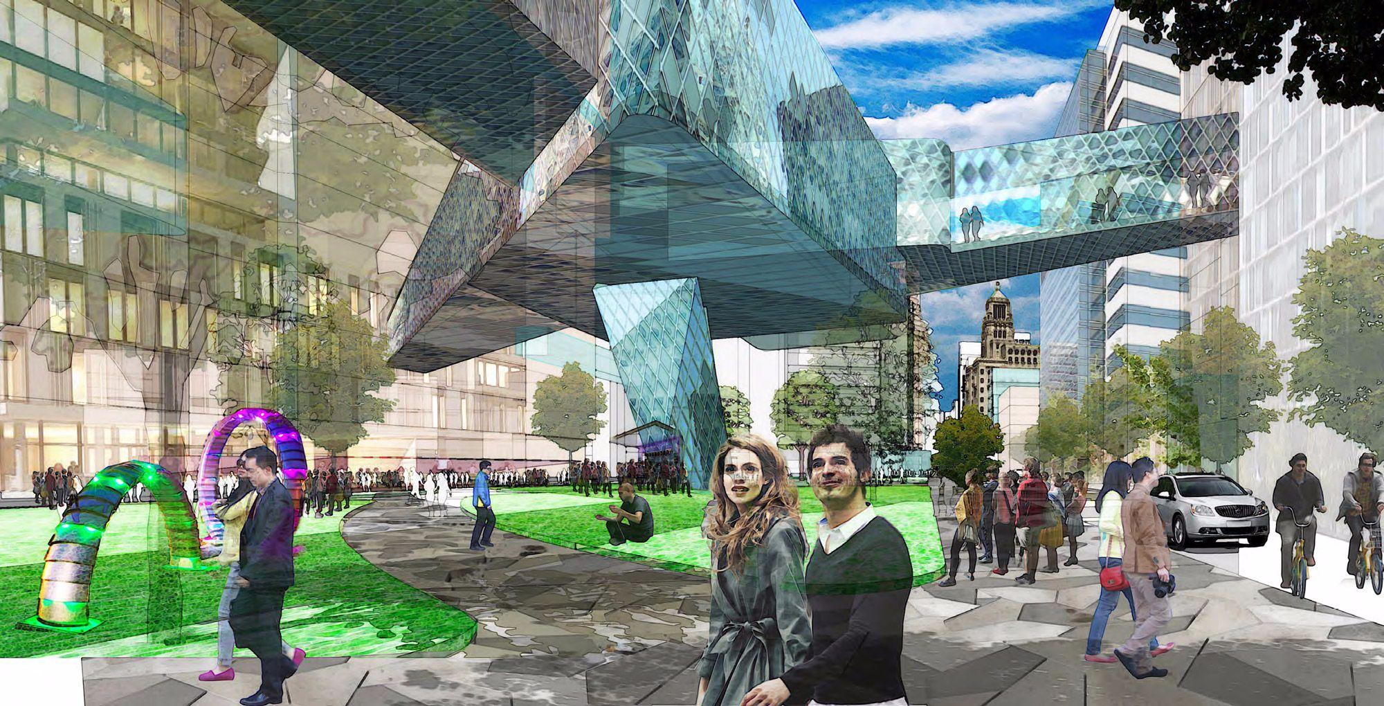 Rendering: Discovery Square / DMC Development Plan