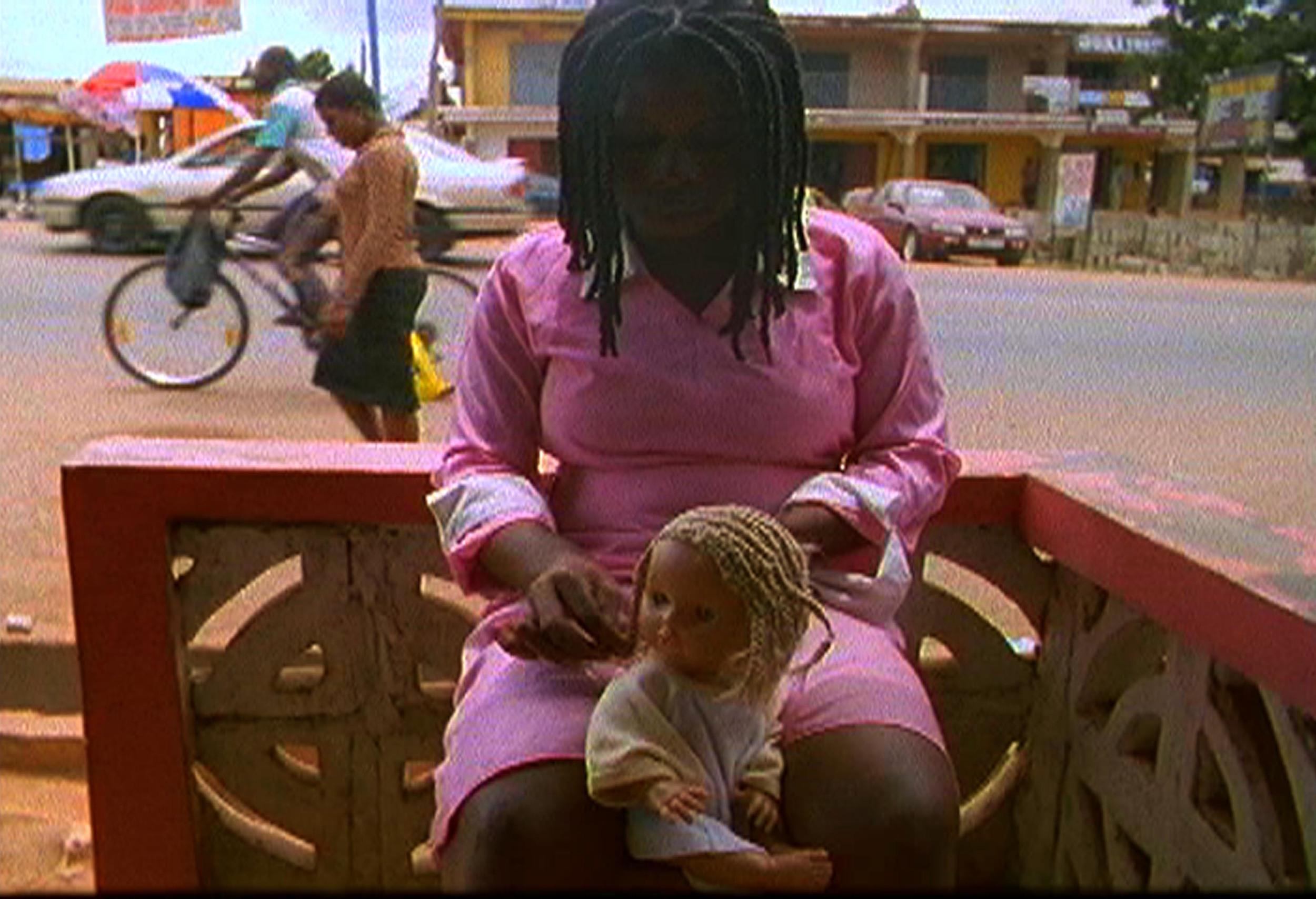 Akosua Adoma Owusu, Me Broni Ba (My White Baby) , 2009, 16 mm film and digital video.