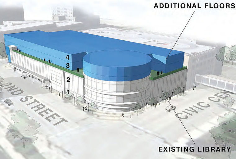 Graphic: Rendering / Rochester Public Library