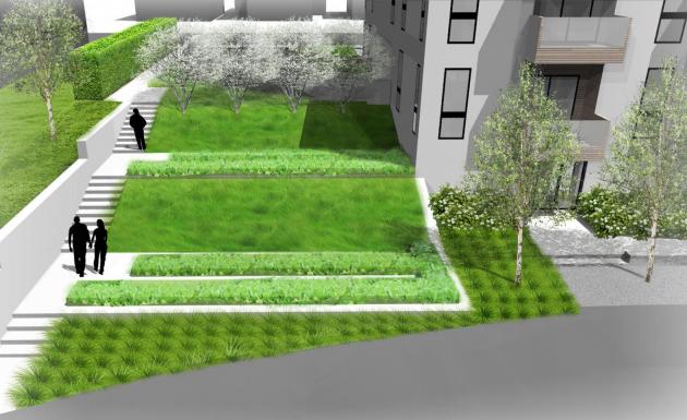 Graphic: Rendering / Lofts at Mayo Park