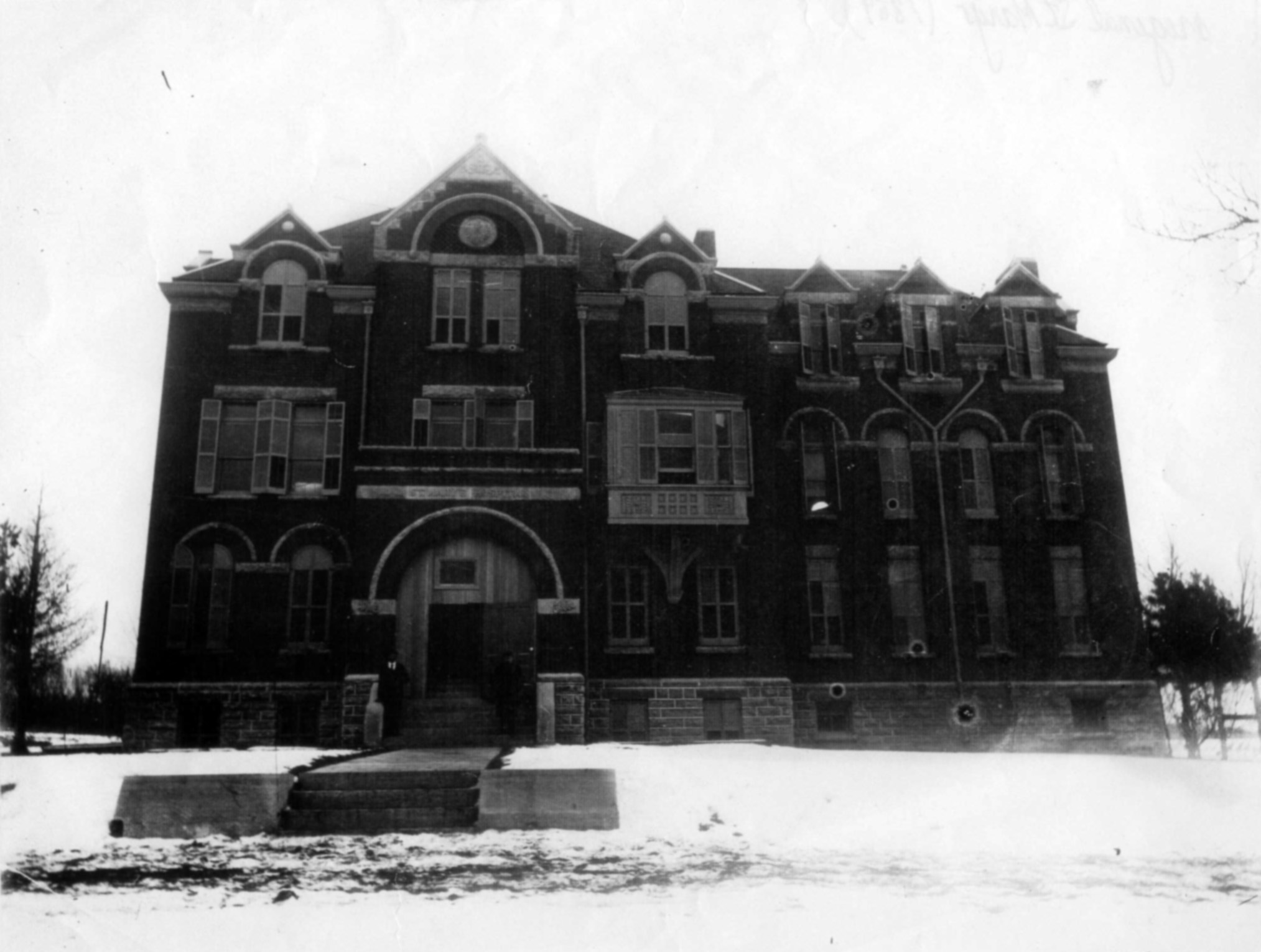Photo: St. Marys Hospital / 1889 / History Center of Olmsted County
