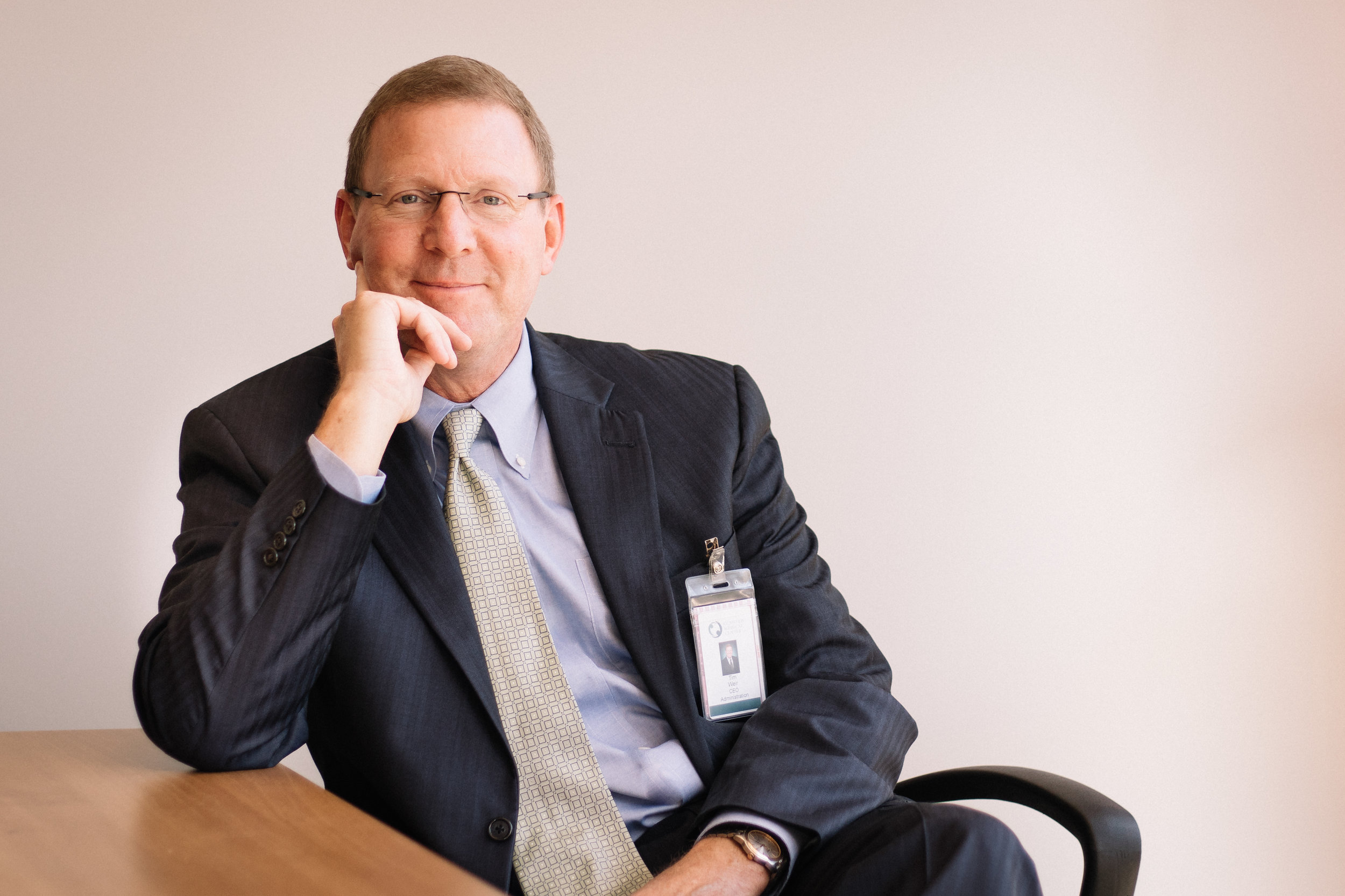 Olmsted Medical Center CEO Tim Weir / Photo by William Forsman