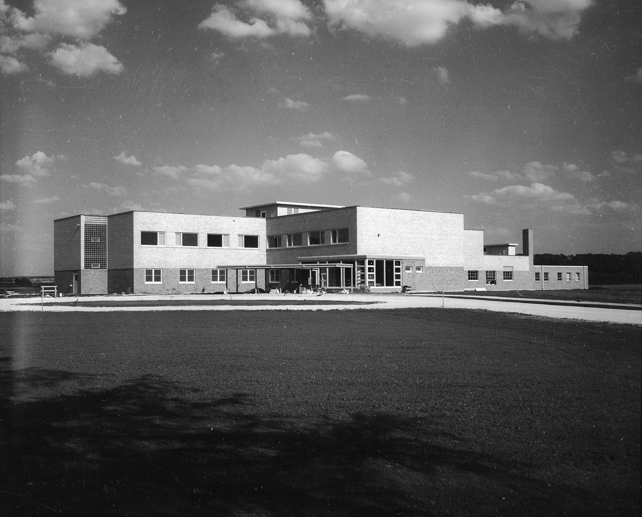 Hospital in 1954
