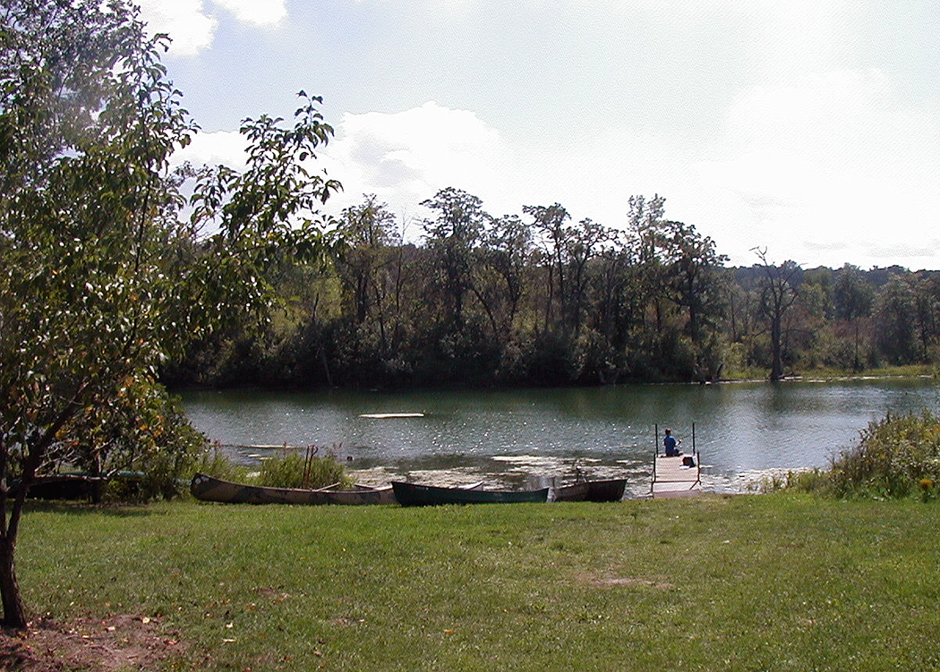 Chester Woods offers rentals of canoes, paddle boats and kayaks