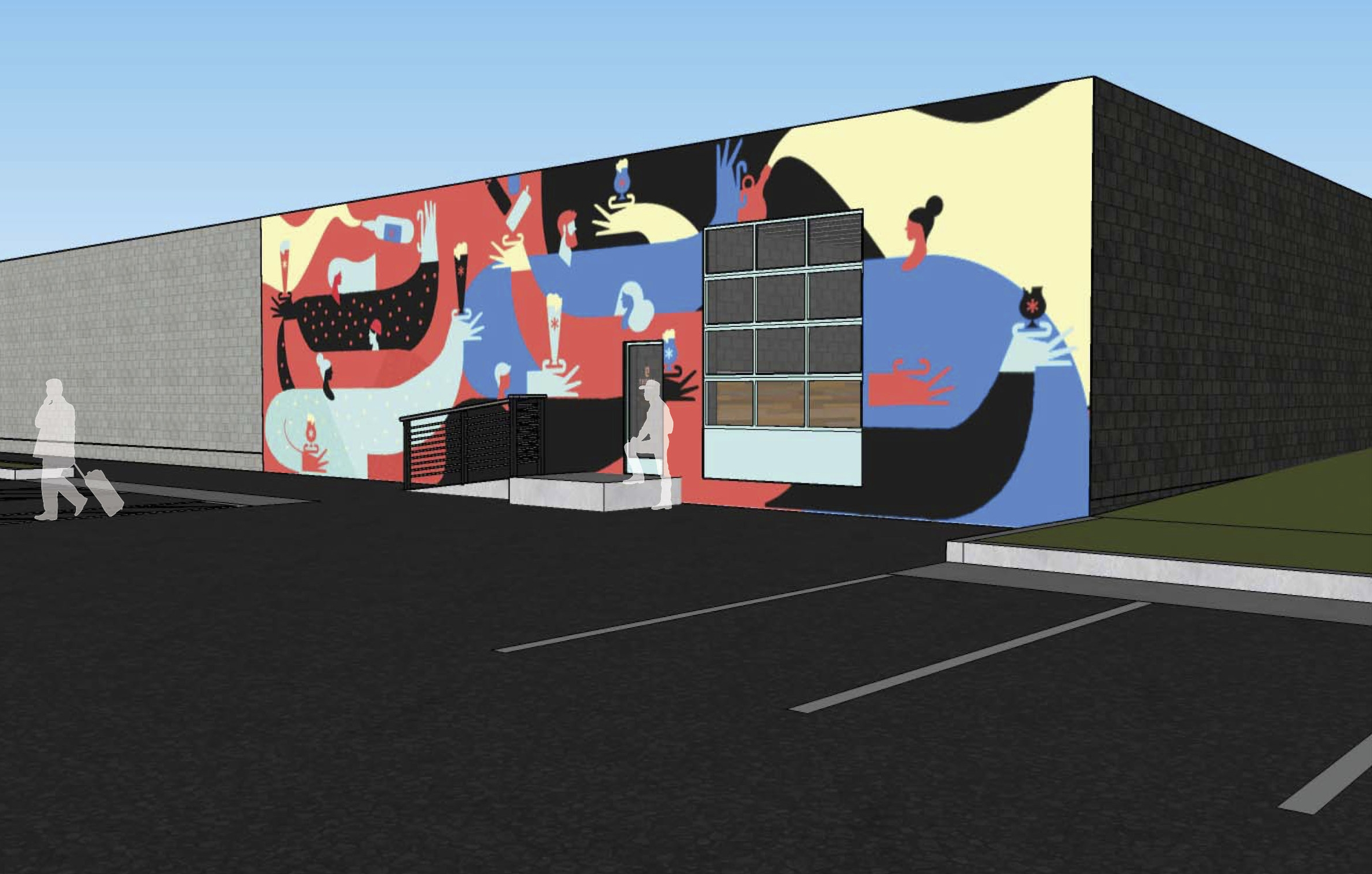 Thesis Beer Project plans to have a mural painted on the back of its building