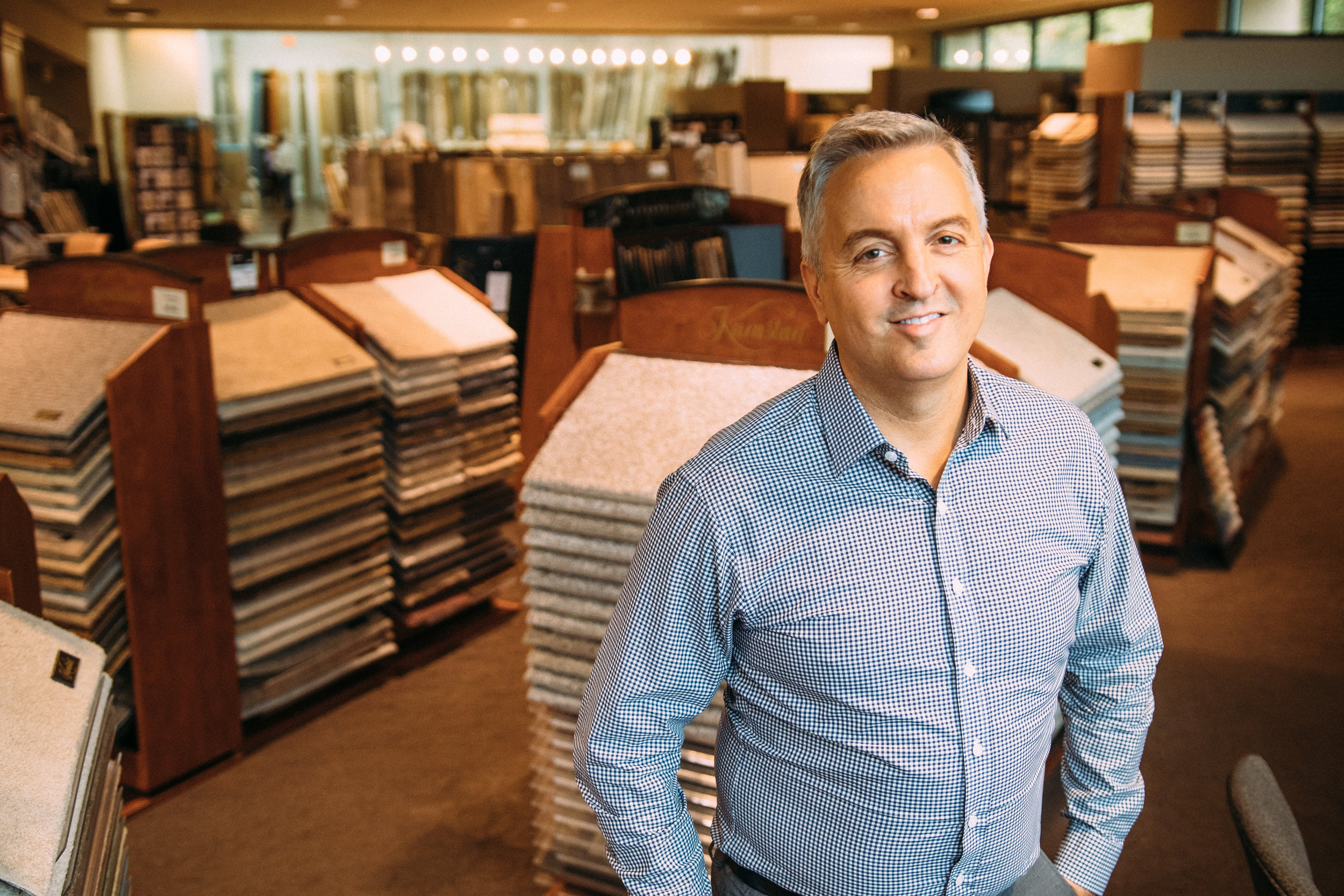 Carpet One flooring consultant Mike Hyde
