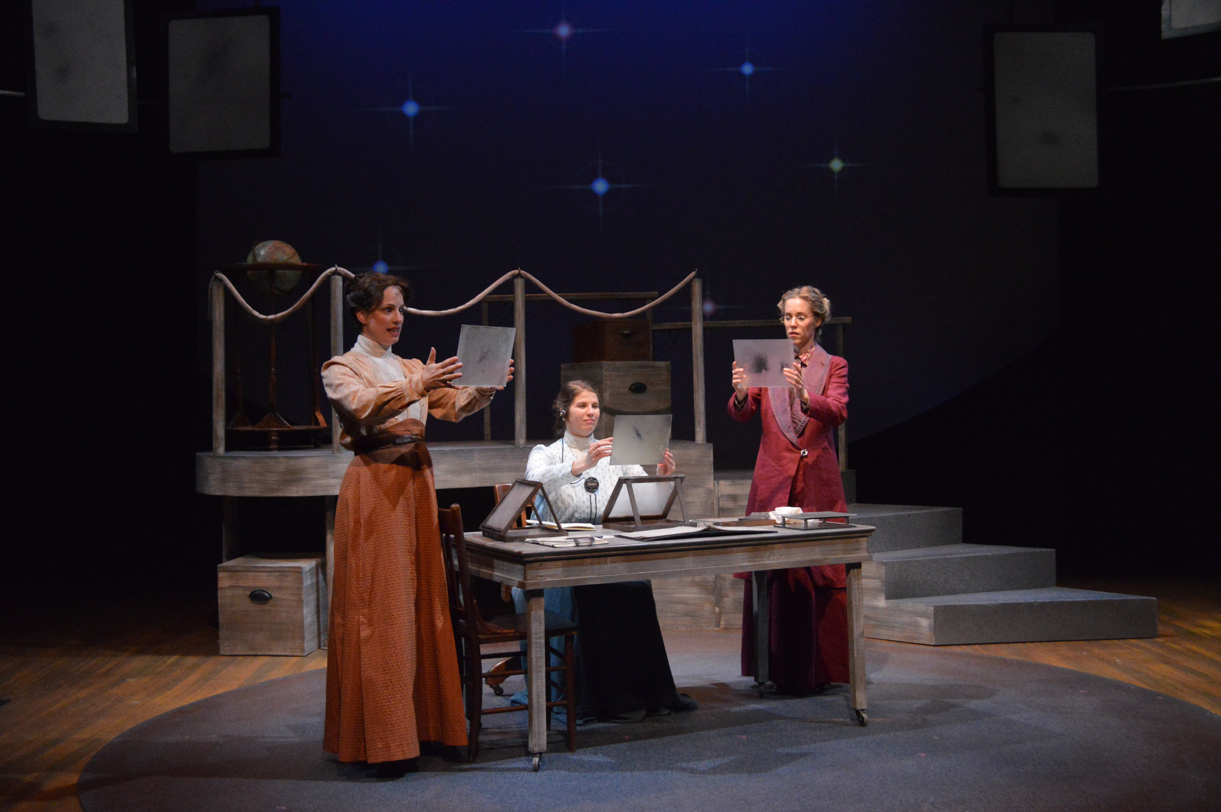 """The 2019 main stage lineup includes a production of Eric Overmyer's """"On the Verge."""""""