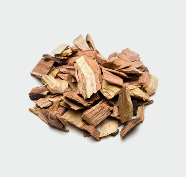 Wet wood chip fuel