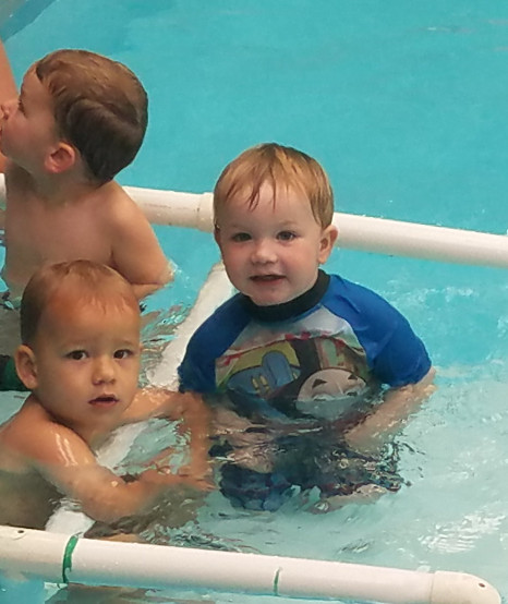 Nursery - This is a transition class from water/bedtime babies into independent swimming in this class parents have minimal interaction with teaching and working with kids.Class size is a maximum of 4, classes run from Monday to Saturday mornings for a 30 minute class.A gateway class to our Goldfish learn to swim class.