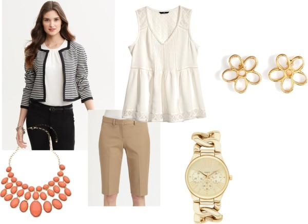 Fashion Friday 10/4/13  by  fashfri  featuring  khaki shorts