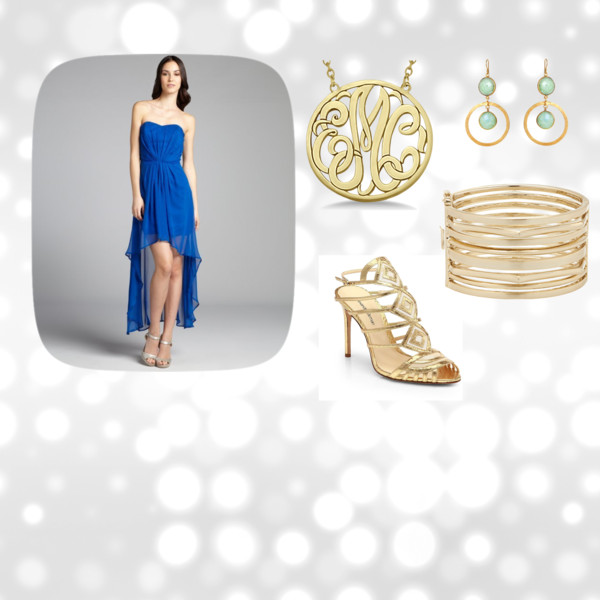 FASHION FRIDAY 5/30/14 Wedding Edition   by   fashfri   featuring   gold jewelry