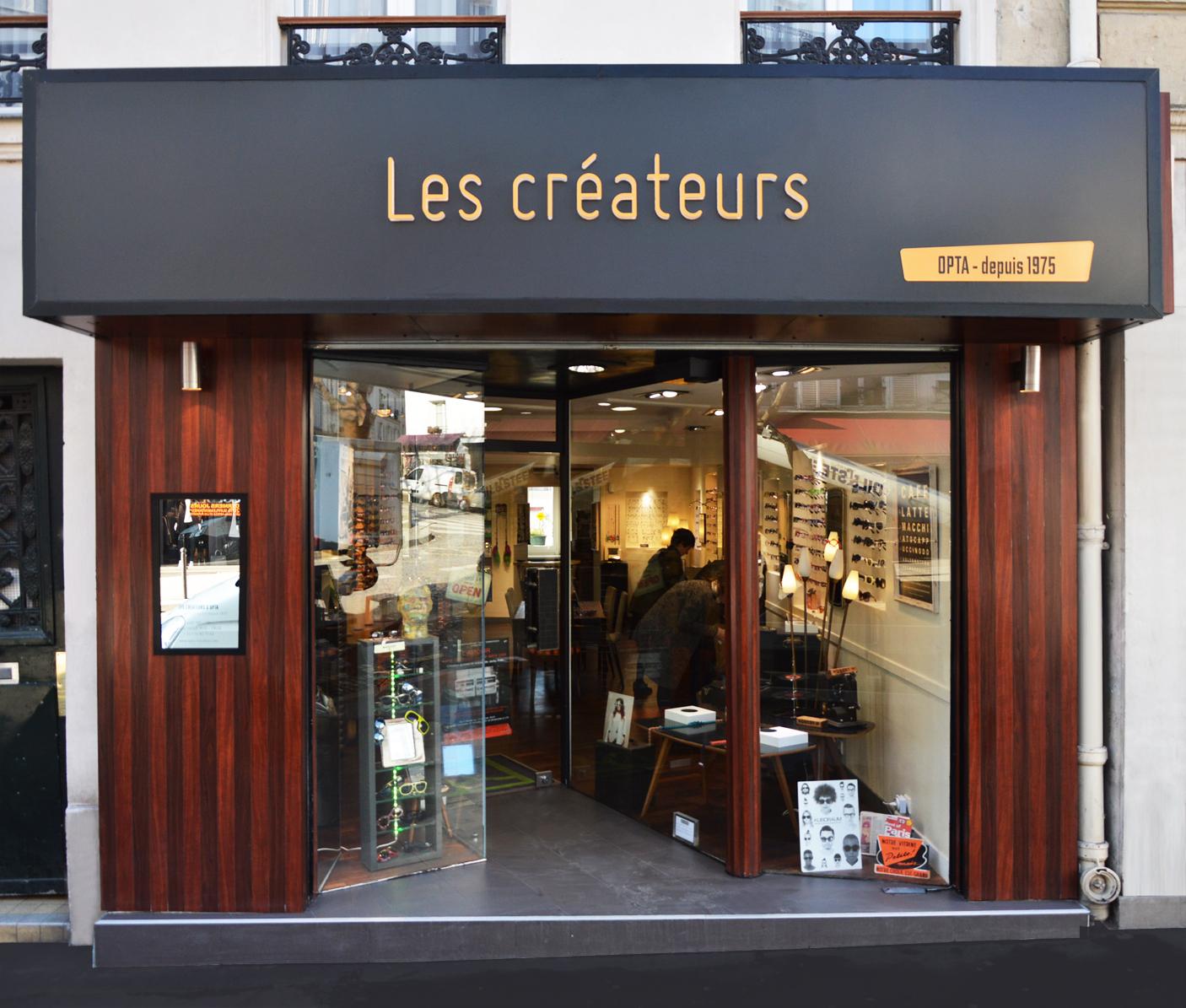 Opticien Les créateurs, Paris 2015