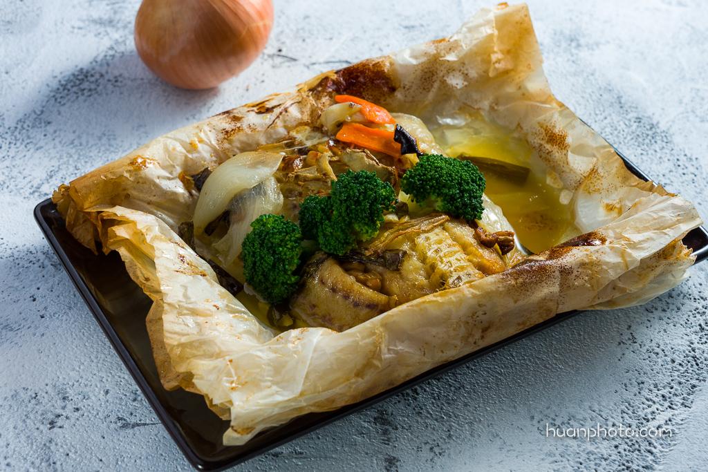 3.  紙包烤鯰魚