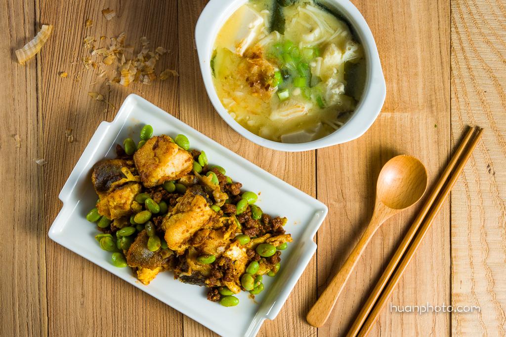 10. 鱈魚2吃(鹹香鱈魚、味噌魚湯)