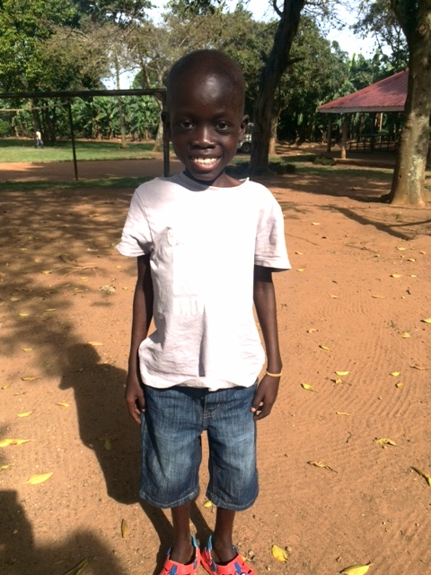 Peter at Cherish Uganda