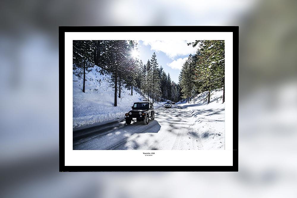 Yosemite, USA – oprawiony wydruk (50x40 cm) - 200 zł   kup teraz ➞