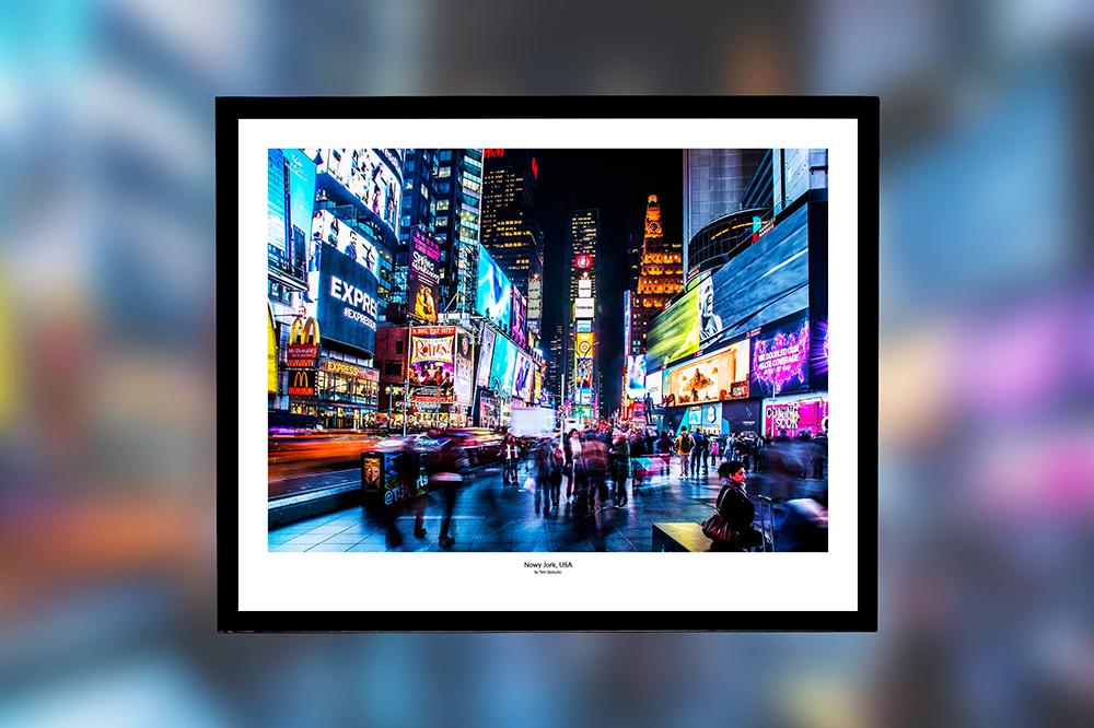 Nowy Jork, USA – oprawiony wydruk (50x40 cm) - 200 zł   kup teraz ➞