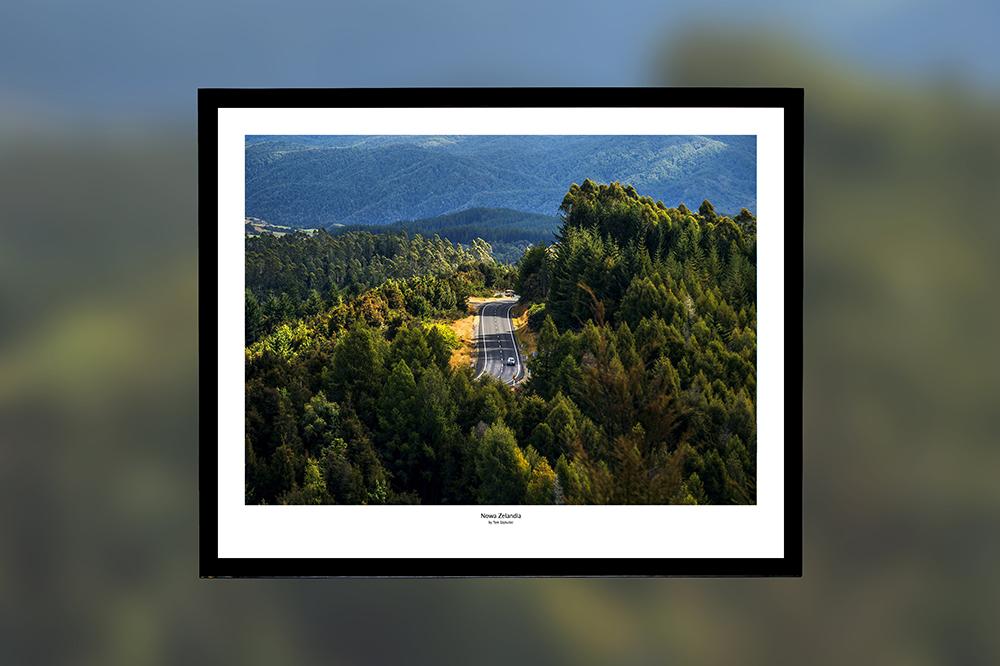 Nowa Zelandia – oprawiony wydruk (50x40 cm) - 200 zł   kup teraz ➞