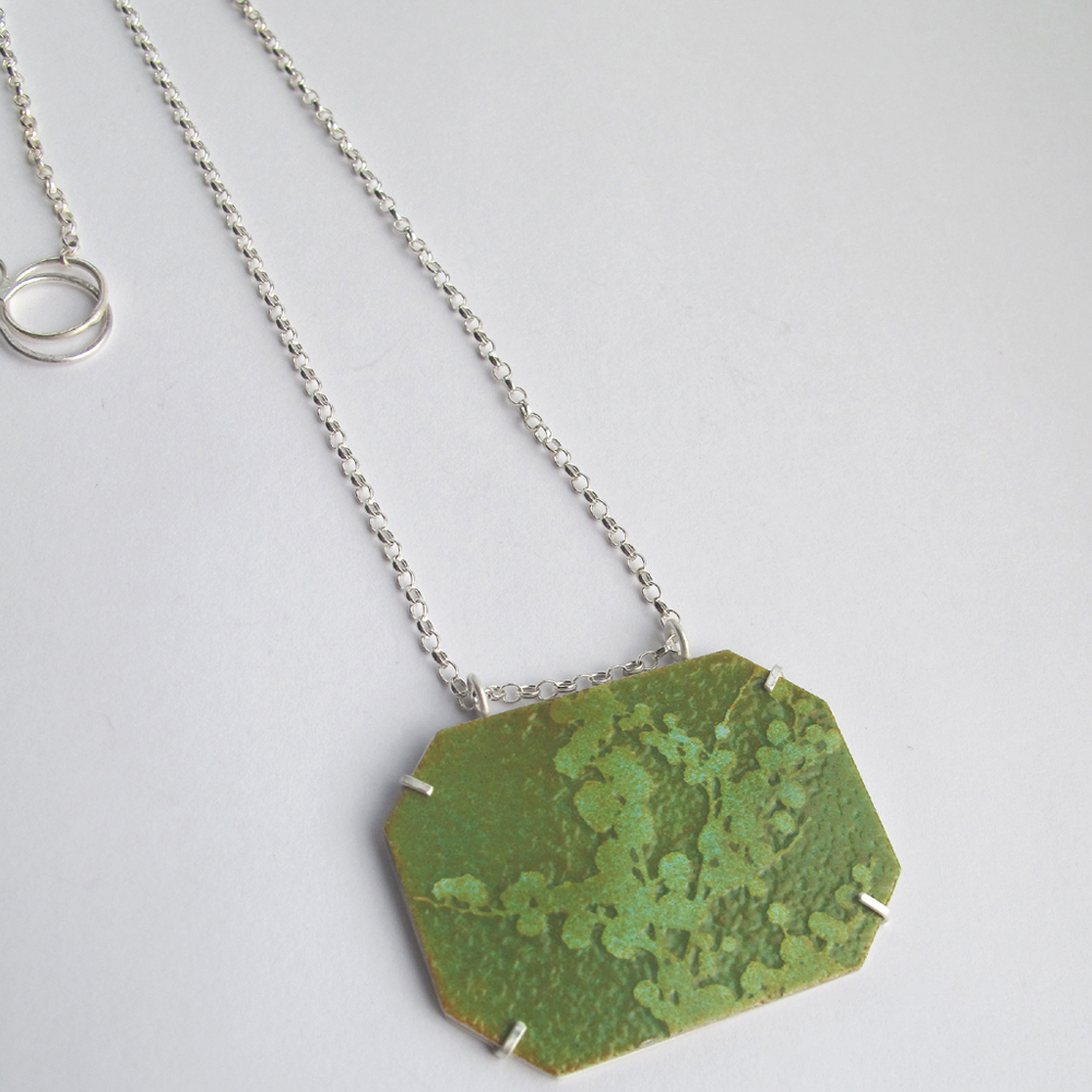 Mimosa pendant necklace
