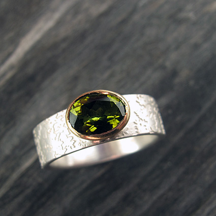tormaline green oval 18ct gold setting 72.jpg