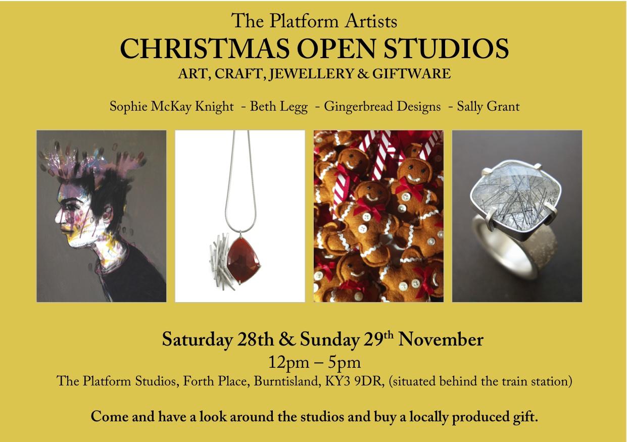 Christmas Open Studios Burntisland