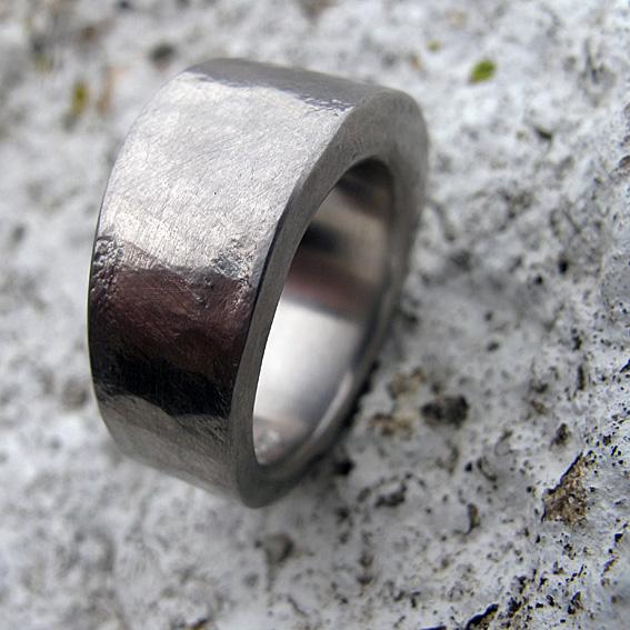 Platinum ring.