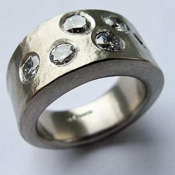Heirloom diamond ring.