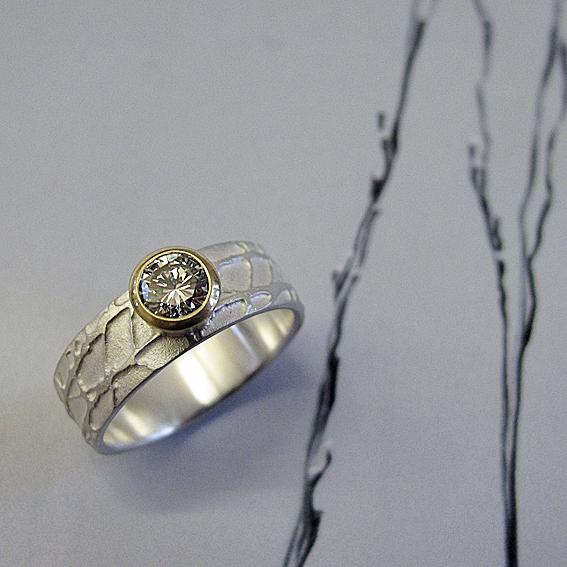 Diamond Winter Ring