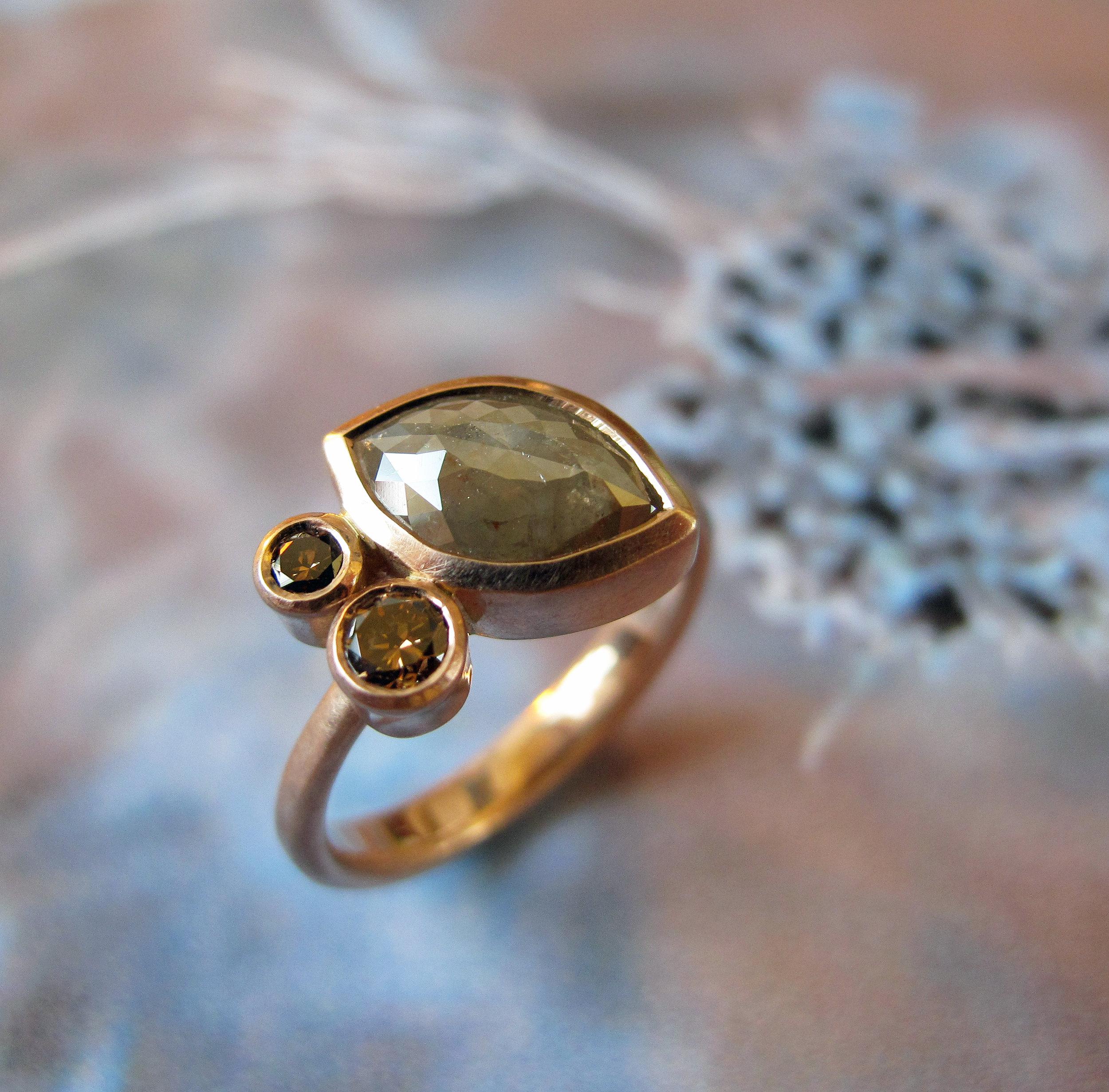 Natural diamond eternity ring.