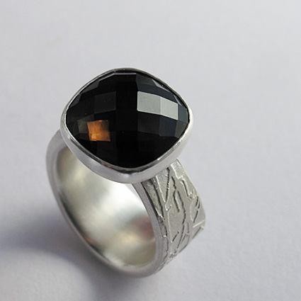 smokey quartz silver etched ring 72.jpg