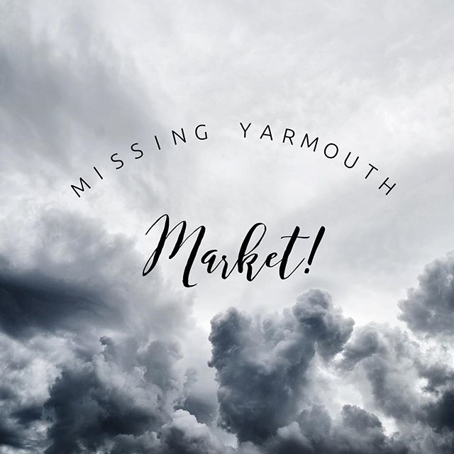 Unfortunately, due to inclement weather, we have decided to cancel our attendance at the Yarmouth Farmers Market today! We hope to participate in some of their future markets and we hope to see you there! 🌪