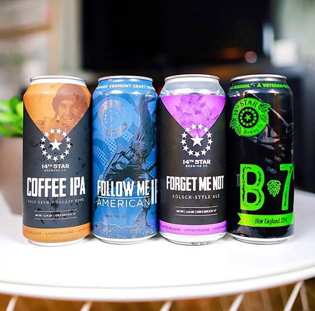 Go check out @baospodcast's review on this killer @14thstarbrewing lineup including our collab with @14thstarbrewing and @vividcoffee! Cheers! ☕️🍺
