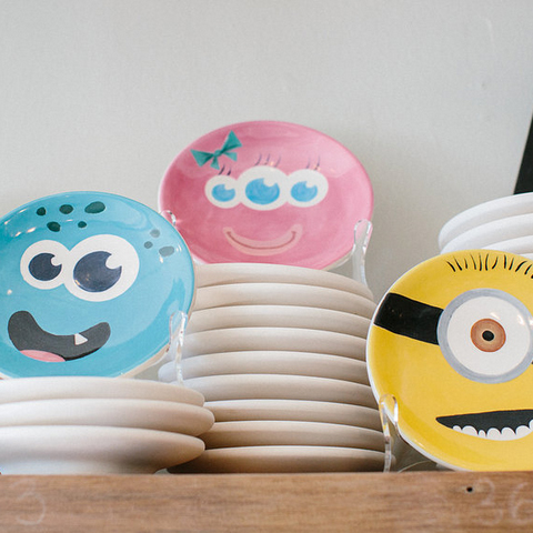 FEATURED PROJECT :  CERAMIC PLATES!