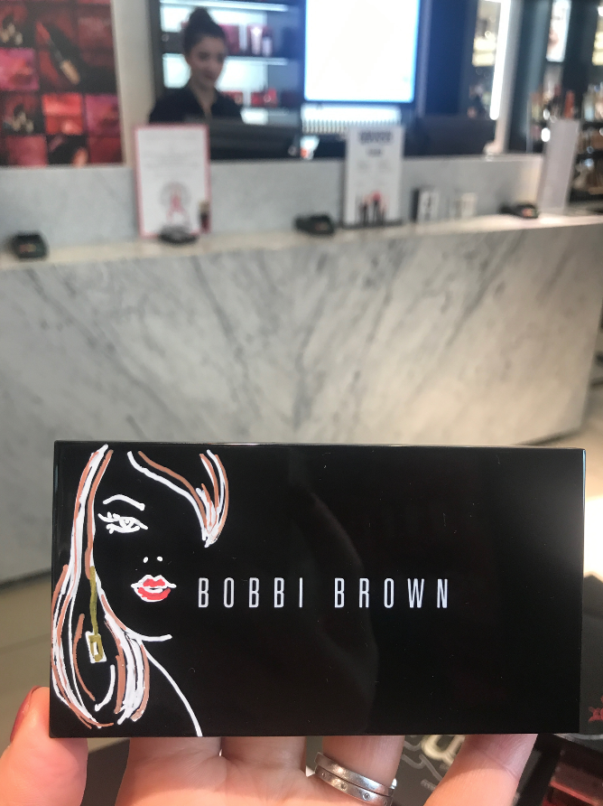 Bobbi Brown Product Illustration