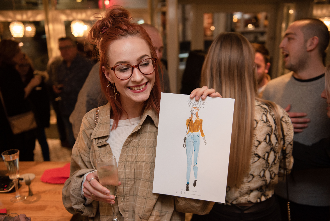 Live Event Fashion Illustration