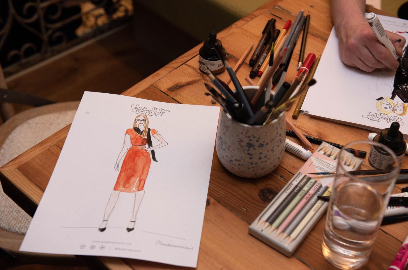 Private Event Fashion Illustrator