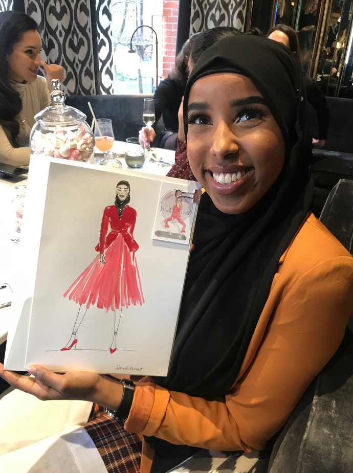 Fashion Influencer Event Illustration @ashwaaqfidar