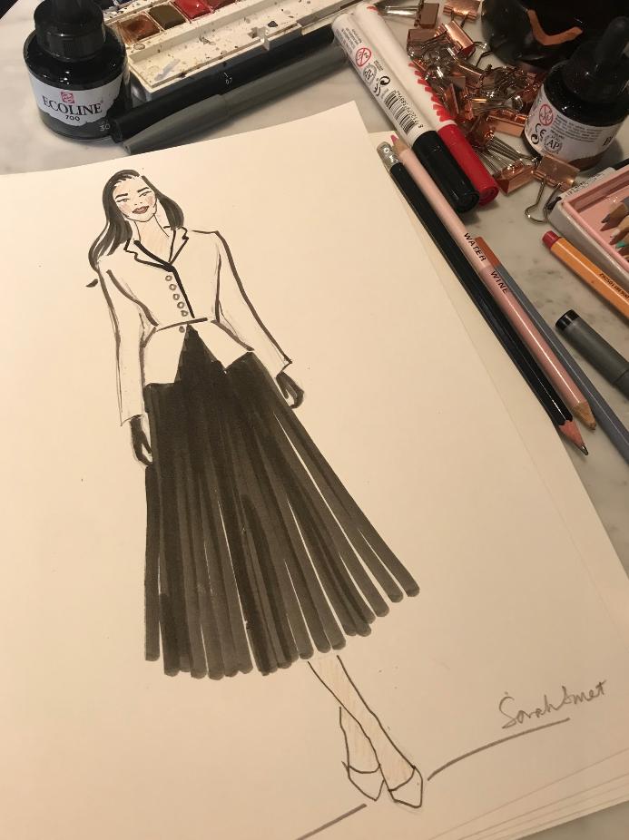 Fashion Influencer Event Illustrator @rumahasit_