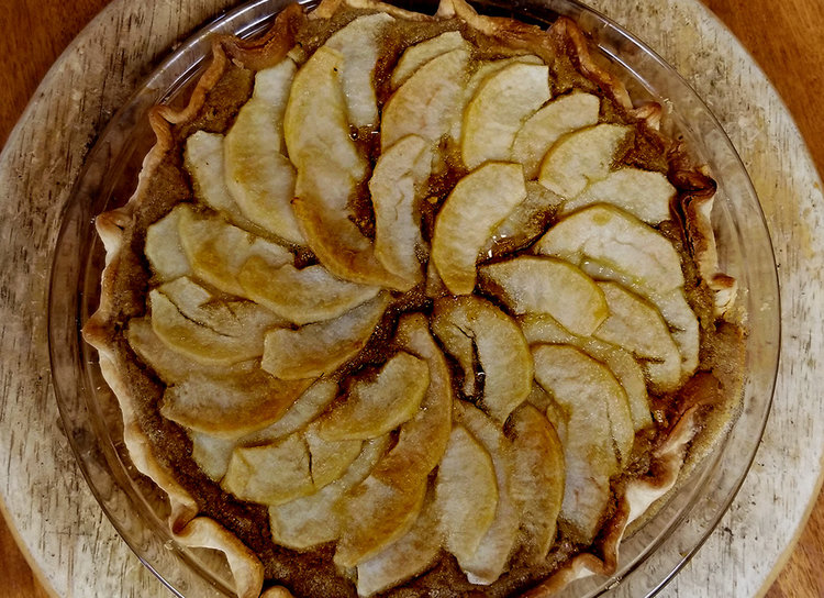 This Brûléed Asian Pear and Chestnut Pie is our favorite… - Click the photo for the recipie!