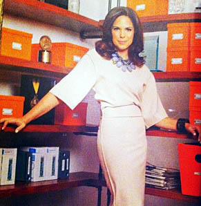Essence Feature, Fashion Stylist for Soledad O'Brien