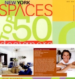 NY Spaces Top 50 Designers, Vicente Wolf