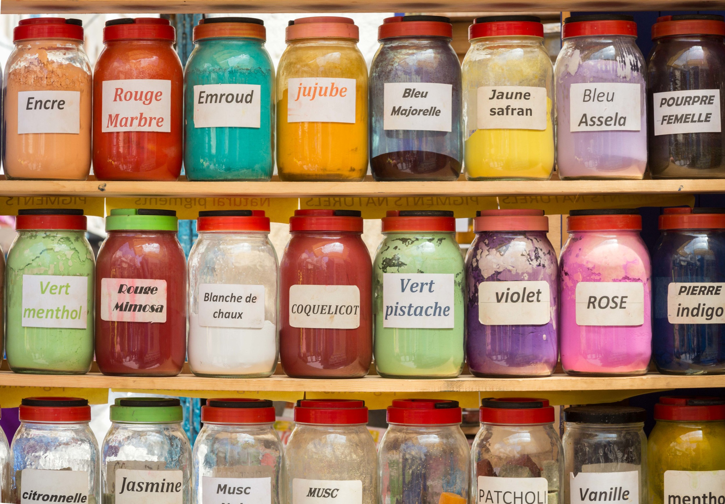 I wanted tobuy all these jars too. What do you think jujube is? I'm a terrible blogger. I should have asked the shop keeper for you.