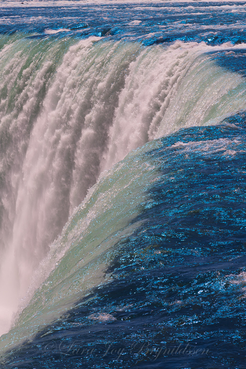 Niagara Falls, Ontario, Canada. The sparkly blue water is from my trusty gold-n-blue polarizer.